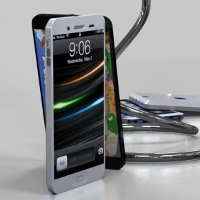 iPhone 5 Liquid Metal Mockup (3)