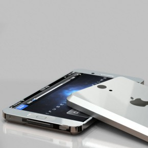 iPhone 5 Liquid Metal Mockup (6)