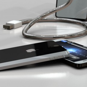 iPhone 5 Liquid Metal Mockup (7)