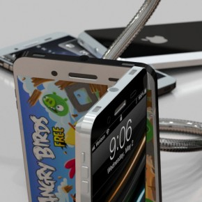iPhone 5 Liquid Metal Mockup (9)