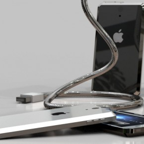 iPhone 5 Liquid Metal Mockup (10)