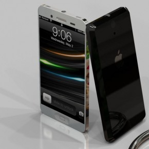 iPhone 5 Liquid Metal Mockup (14)