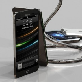 iPhone 5 Liquid Metal Mockup (16)