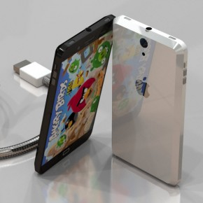 iPhone 5 Liquid Metal Mockup (19)