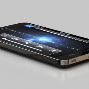iPhone 5 Liquid Metal Mockup (26)