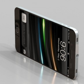 iPhone 5 Liquid Metal Mockup (33)