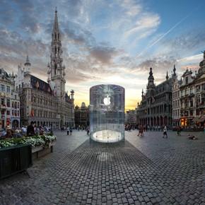 Waar komt de eerste Apple Store van België?
