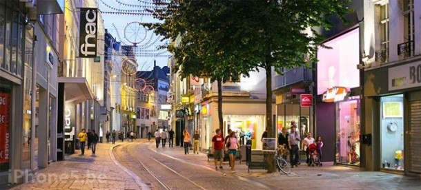 Veldstraat Gent, locatie voor de Apple Store