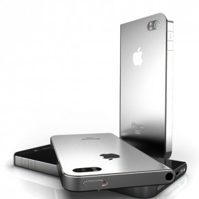 Asymmetrisch iPhone 5 concept