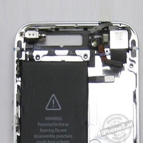 Foto's laten grotere accu iPhone 5 zien