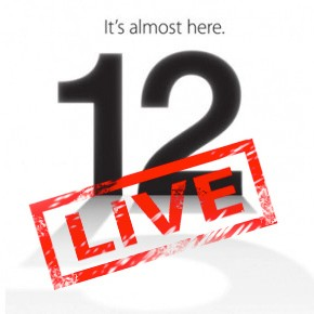 Volg het Apple iPhone Event live!